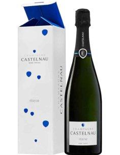 Champagne brut réserve Castelnau dans son étui Champagne Castelnau - 1