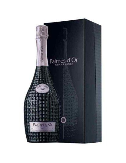 champagne nicolas feuillatte Palmes dor vintage 2006 rosé coffret