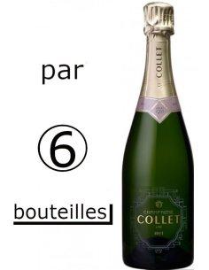 Champagne Collet Brut caisse de 6