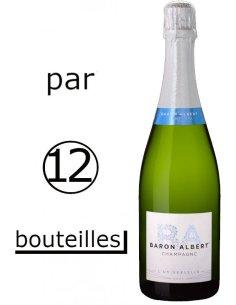 (Par carton de 12 bouteilles) Baron Albert cuvée Universelle