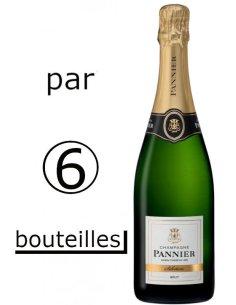 carton caisse Champagne Pannier Brut Sélection