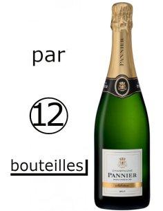 Champagne Pannier Brut Sélection (Par carton / 12 bouteilles)