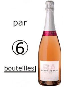 Rosé l'Enchanteresse Baron Albert (par carton de 6 bouteilles)