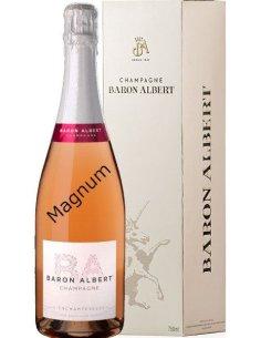 Magnum rosé Baron Albert