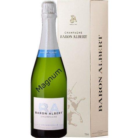 Magnum cuvée l'Universelle champagne Baron Albert Champagne Baron-Albert - 1