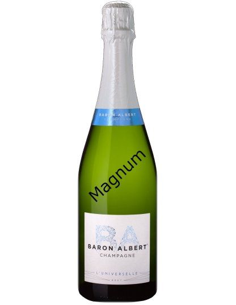 Champagne magnum Baron Albert