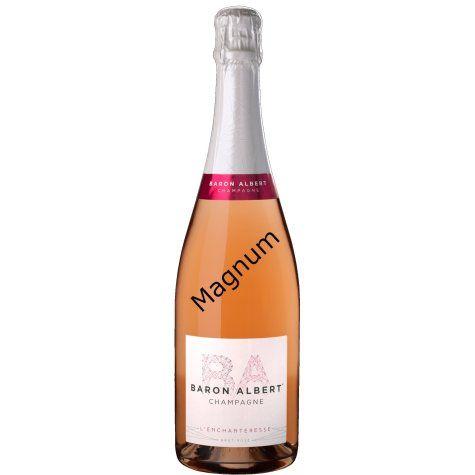 Champagne magnum rosé Baron Albert
