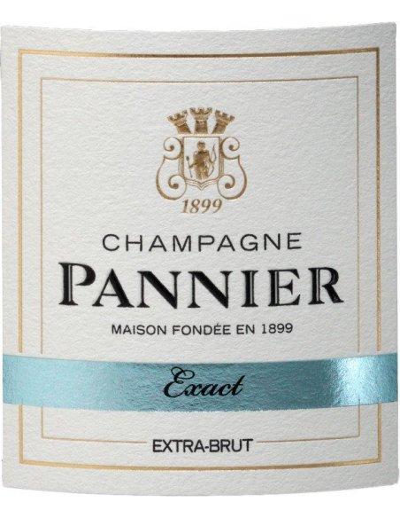 Etiquette Extra Brut Champagne Pannier