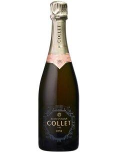 Champagne Collet rosé