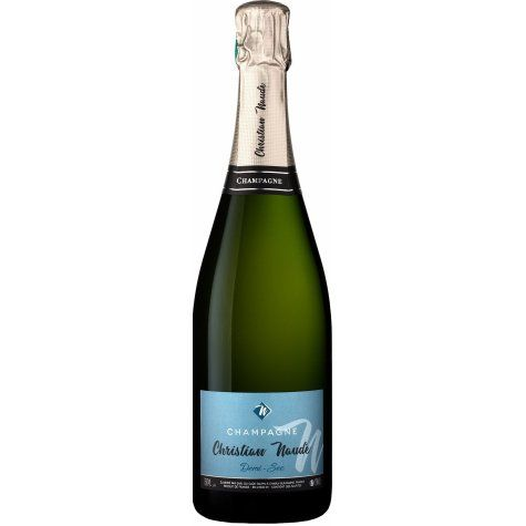 Champagne demi sec Christian Naudé