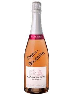 Demie Bouteille Baron Albert rosé
