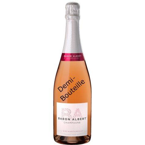 L 'Enchanteresse rosé champagne Baron Albert (Demi-Bouteille) Champagne Baron-Albert - 1