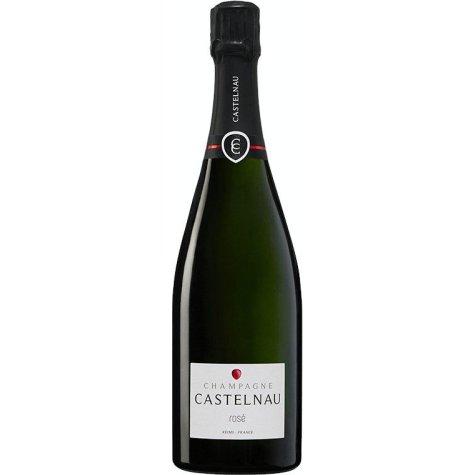 Champagne rosé castelnau