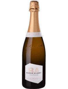 Champagne Baron Albert Blanc de Blancs cuvée la Pimpante Champagne Baron-Albert - 1
