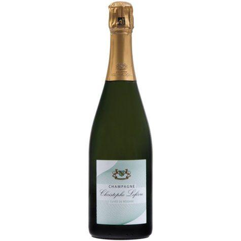 Champagne bio Christophe Lefévre réserve (demi-bouteille) Champagne Lefèvre biologique - 1