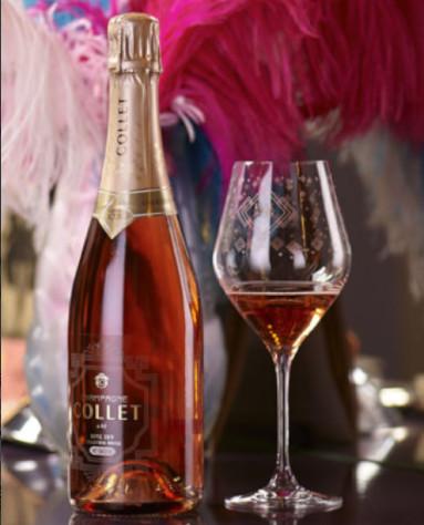 Rosé Champagne collet