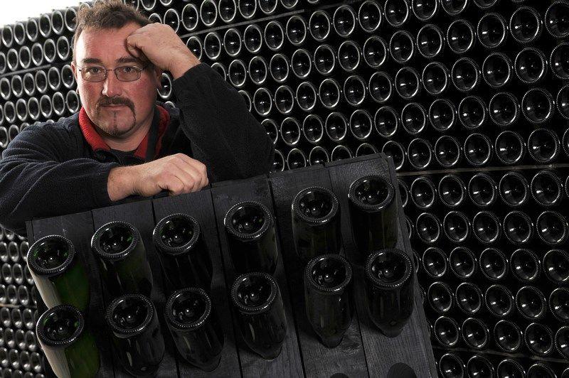 Christophe lefèvre producteur de champagnes Bio