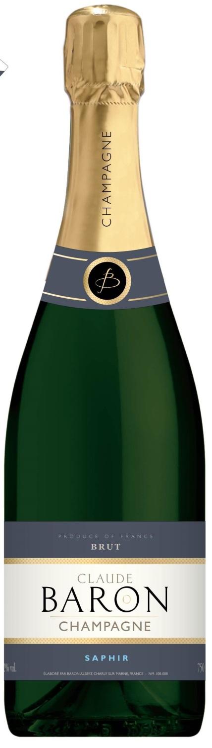 champagne saphir Baron